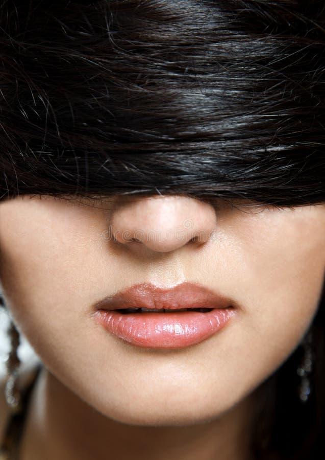 räknat hår arkivfoton