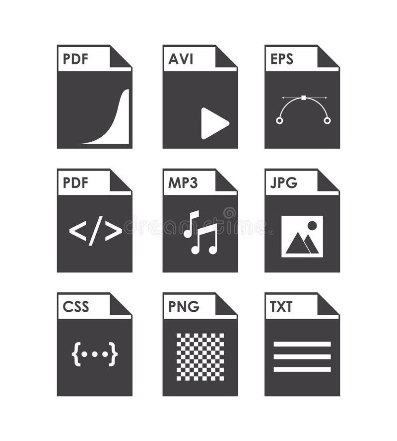 Räknearksymbolsdesign royaltyfri illustrationer