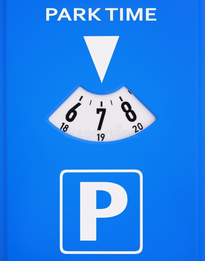 räkneverkparkering arkivbild