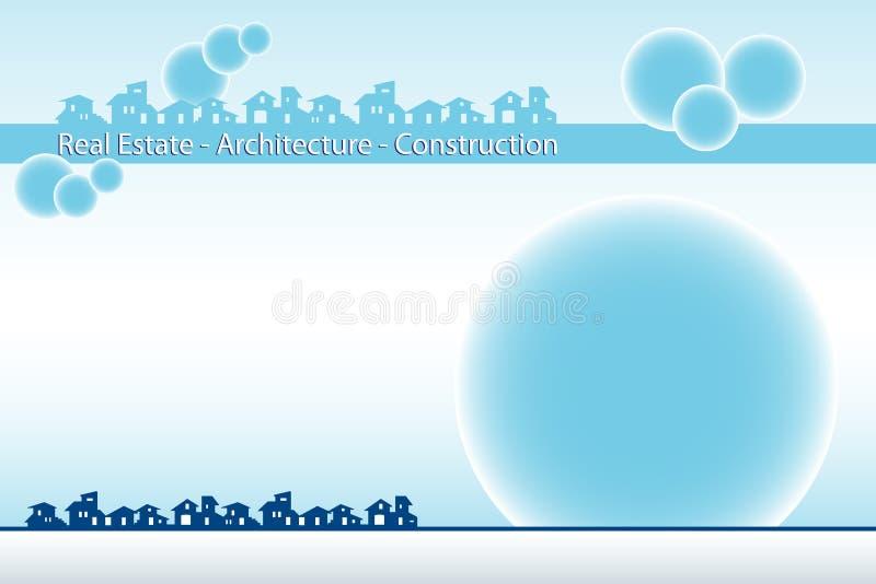 räkning för broschyraffärskort vektor illustrationer