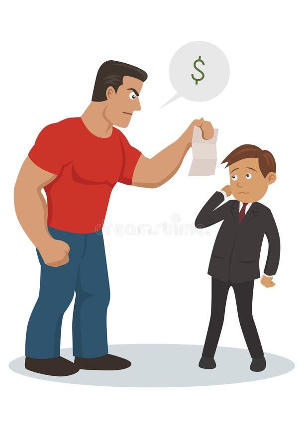 Räkningsamlare stock illustrationer