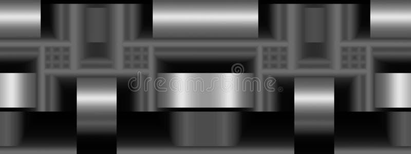 Ränksmiderier som är panorama- vektor illustrationer
