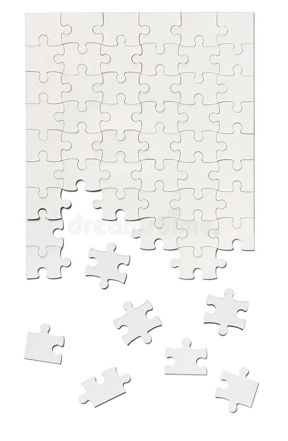 Rätselspiellösungsteamwork stockfotografie