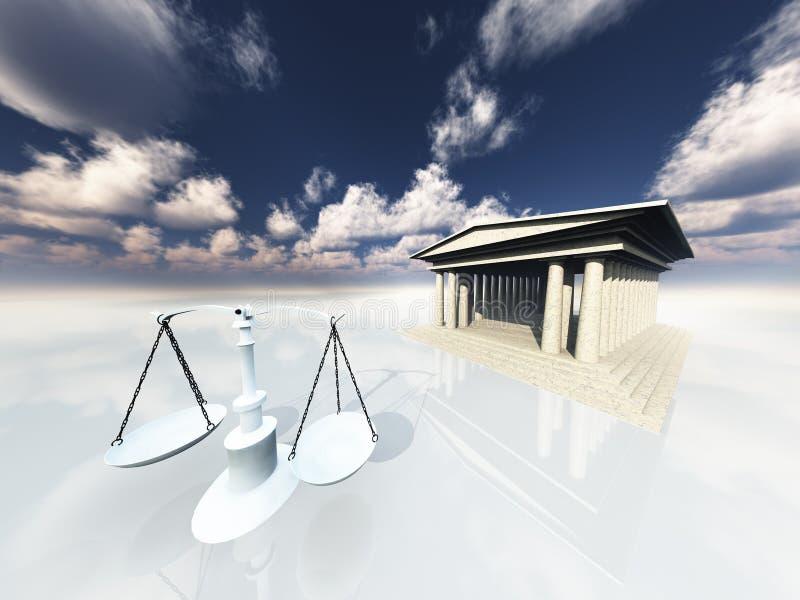 rättvisa vektor illustrationer