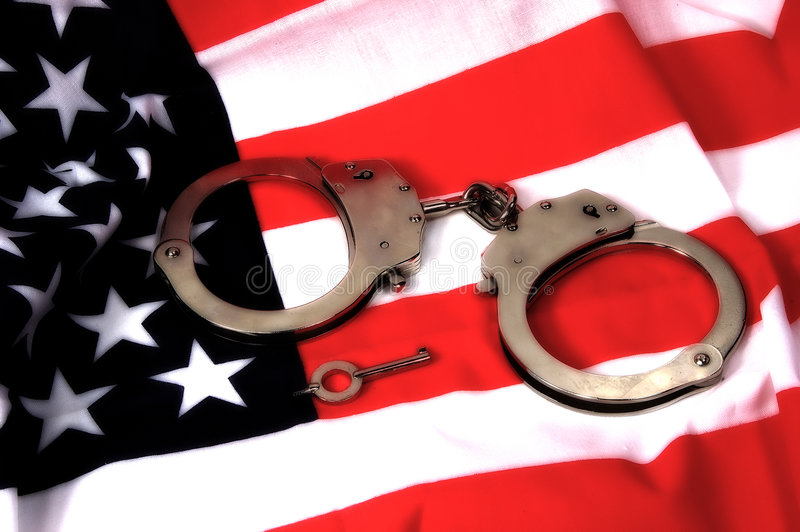 rättvisa för 3 american arkivfoton