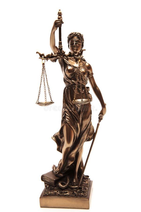 Rättvisa Goddess arkivbilder