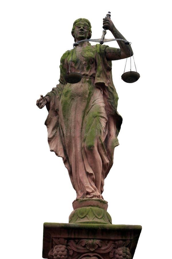 rättvisaladystaty fotografering för bildbyråer
