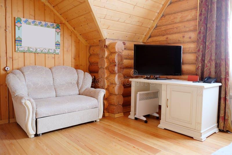 Räume im Häuschen stockbilder