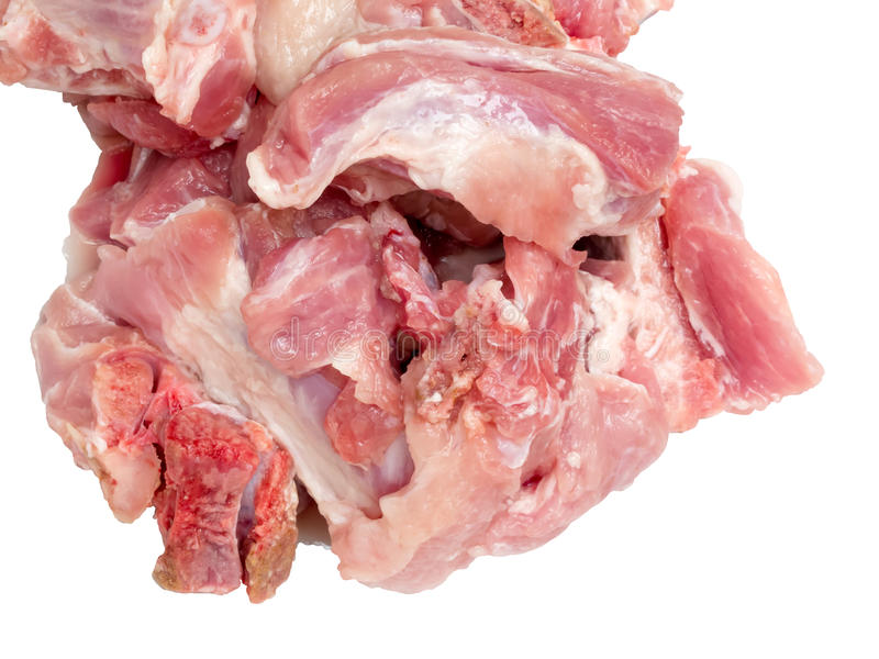 Rå huggen av feg meat arkivfoton