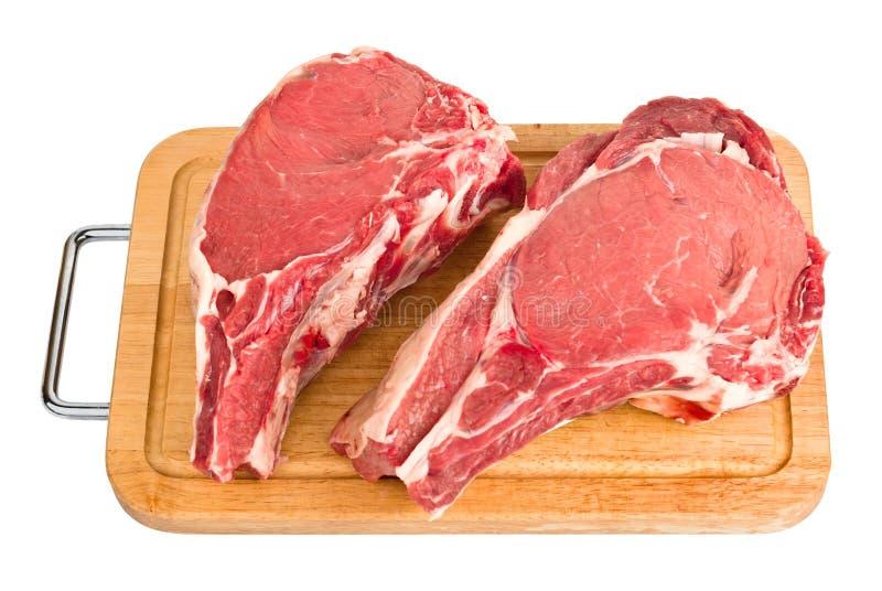 rå isolerad meat royaltyfri fotografi