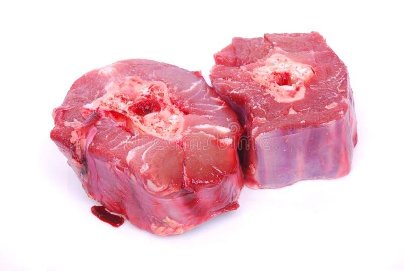 rå meathalsostrich royaltyfria bilder