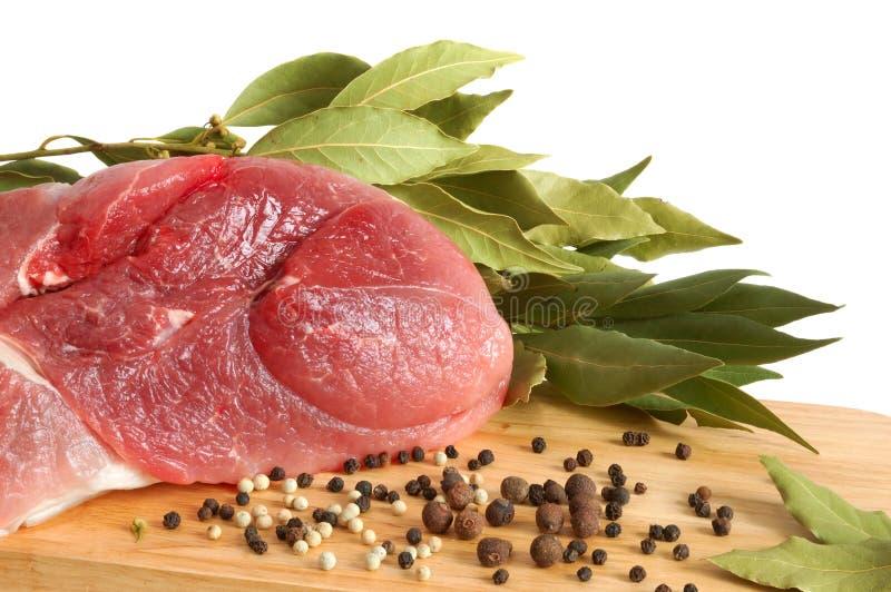 rå meatpork fotografering för bildbyråer