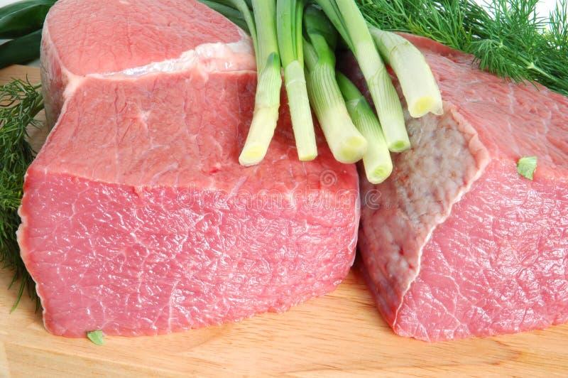 rå nötköttmeat arkivfoto