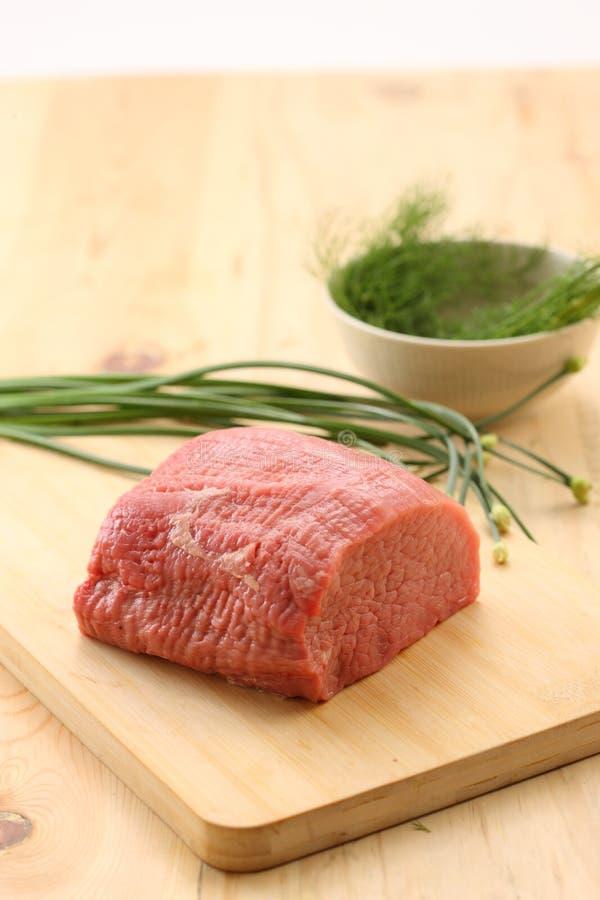 rå ny meat arkivbild