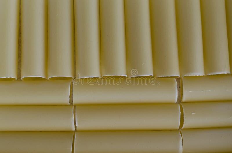 Rå pasta för Canneloni royaltyfri fotografi