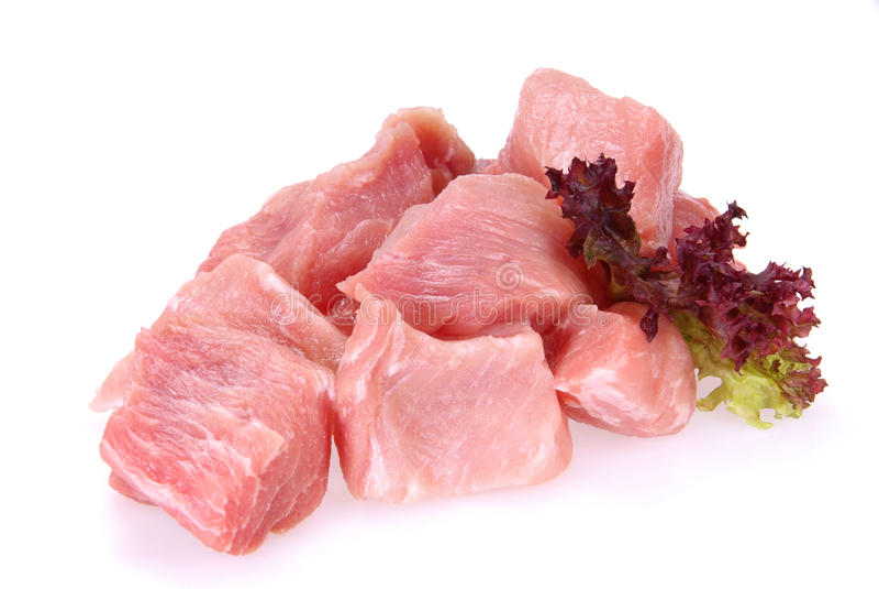 Rå Pork royaltyfri foto