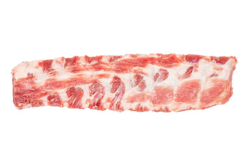 rå stöd för pork arkivbild