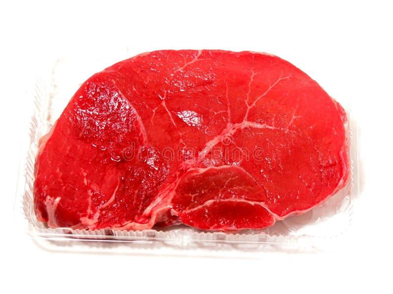Download Rå steak fotografering för bildbyråer. Bild av protein - 501805