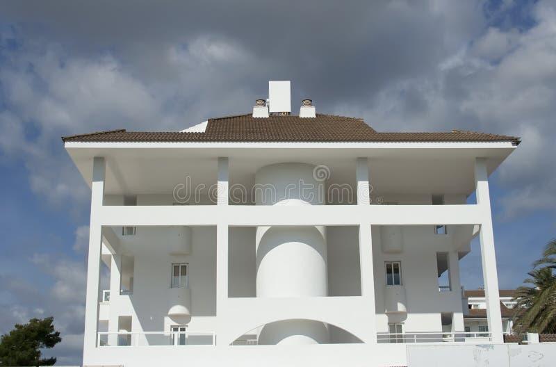 rå white för hus royaltyfri fotografi