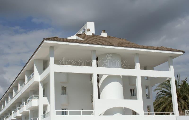 rå white för hus arkivfoto