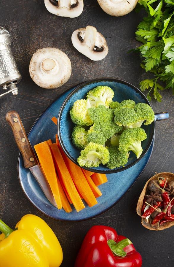 Rågrönsaker arkivbild