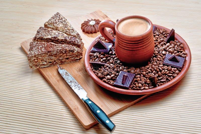 Råna av varm kakao på royaltyfria foton