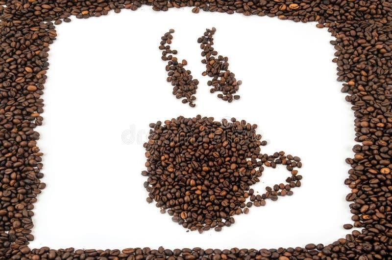 Rånar av kaffebönor arkivfoto