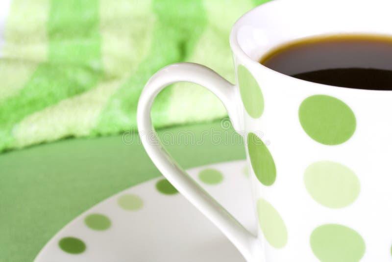 rånar prickig green för kaffe royaltyfri bild