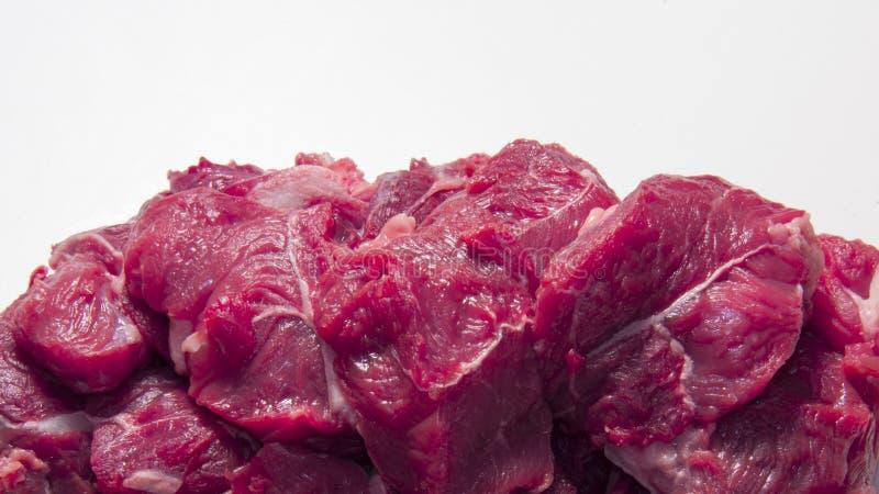 Rått nytt kött för häst arkivbild