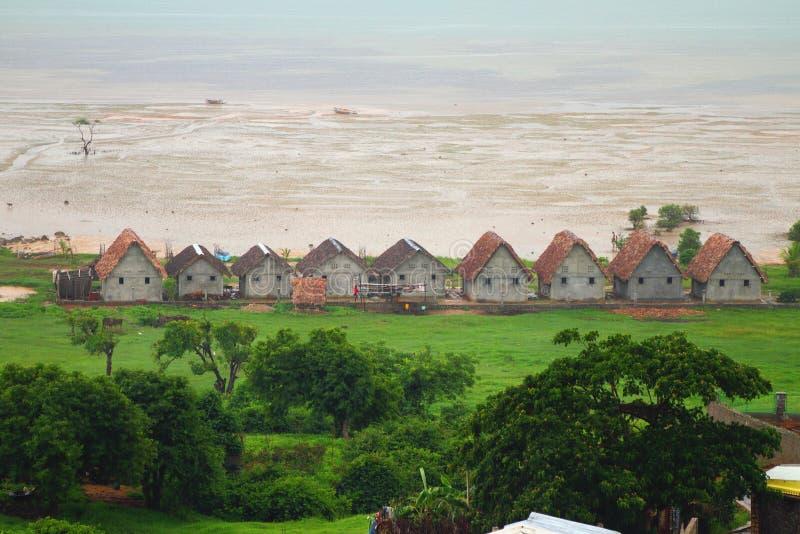 Règlement sur une côte Diego-Suárez (Antsiranana), Madagascar d'océan photo libre de droits