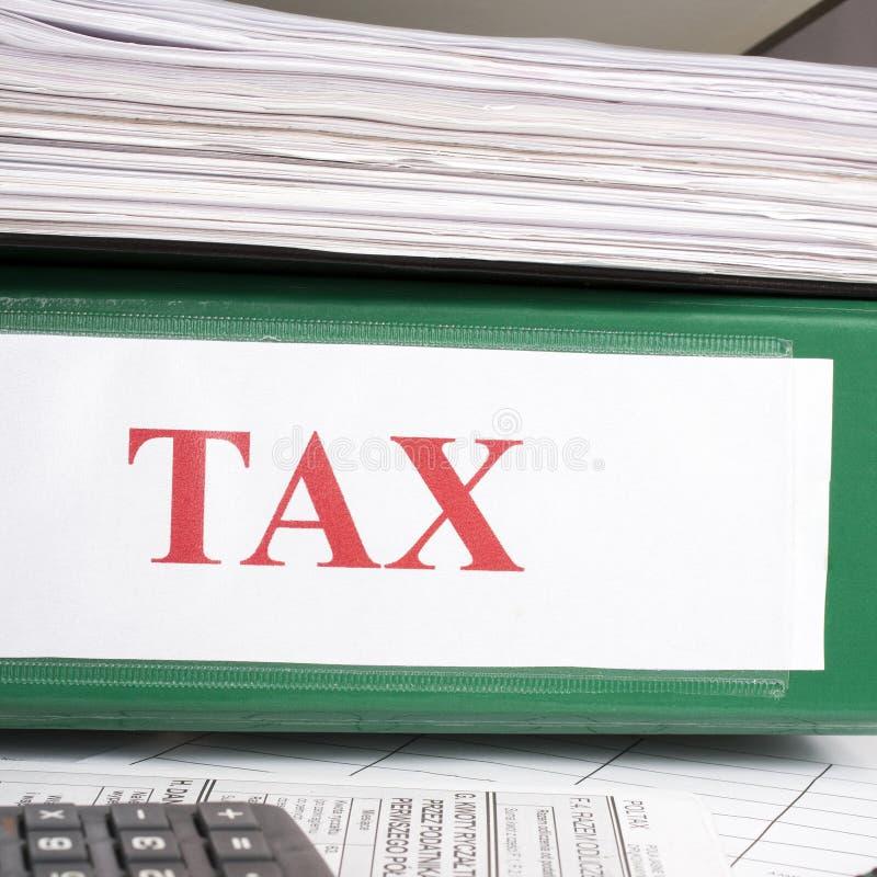 Règlements d'impôts image stock