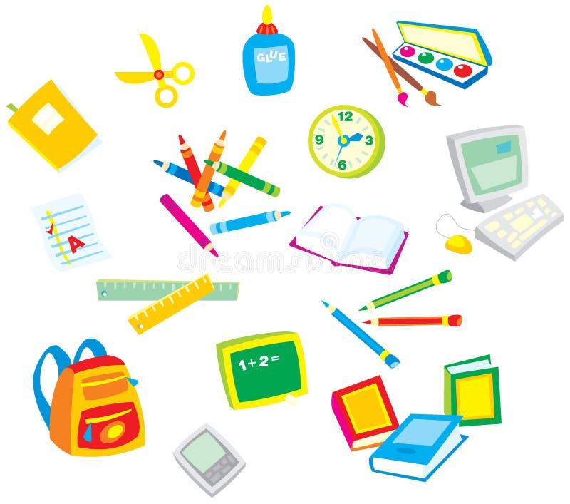 Règles 001 d'école illustration libre de droits