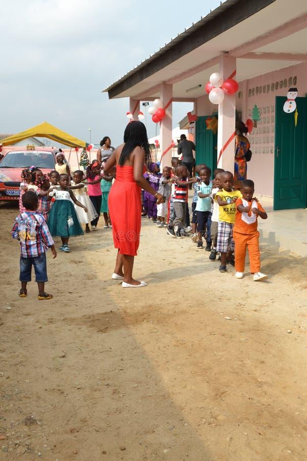 Règles de discipline dans le jardin d'enfants photographie stock libre de droits