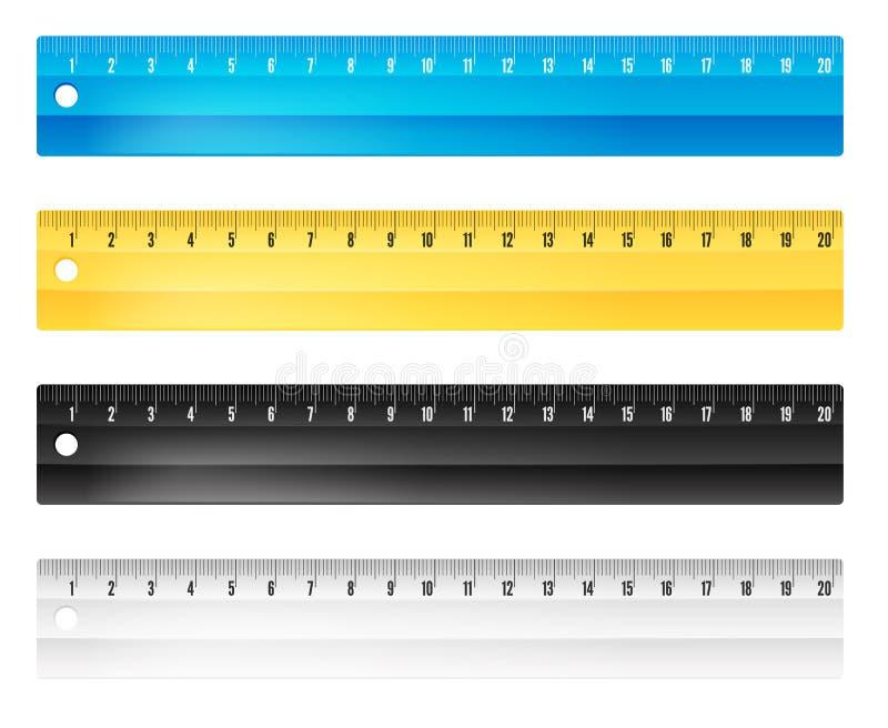 Download Règles en centimètres illustration de vecteur. Illustration du dessin - 76078464