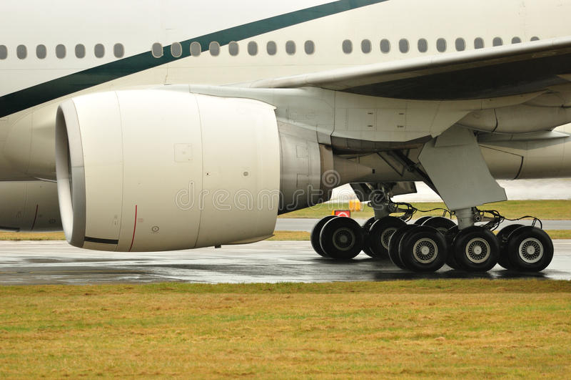 Réacteur de Boeing 777 photo stock