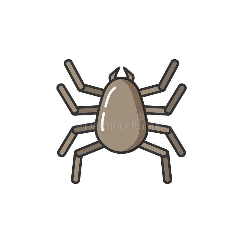 Réaction allergique d'allergie du corps humain à brancher sur table d'écoute illustration de vecteur