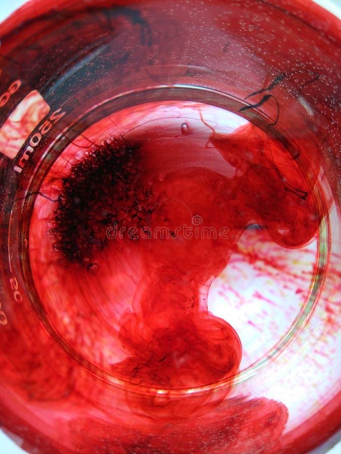 Réaction chimique photo libre de droits