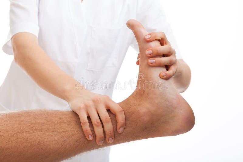 Réadaptation de pied image libre de droits