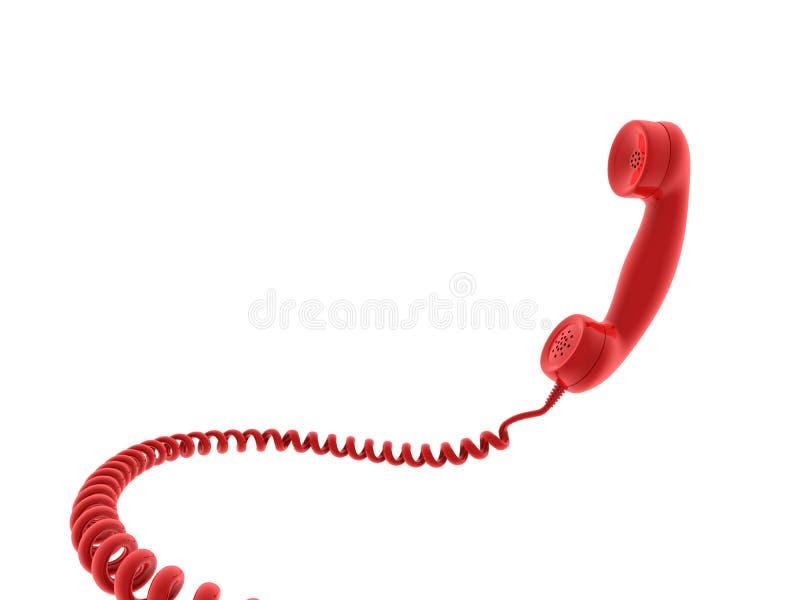 récepteur de téléphone illustration libre de droits
