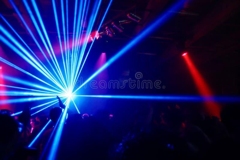 Réception à la disco photo stock