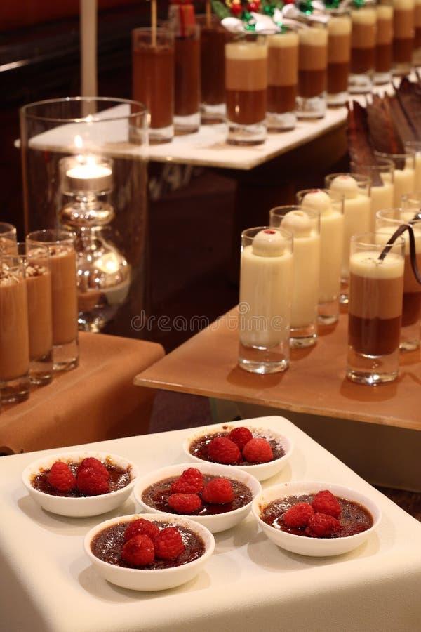 Réception de chocolat image libre de droits