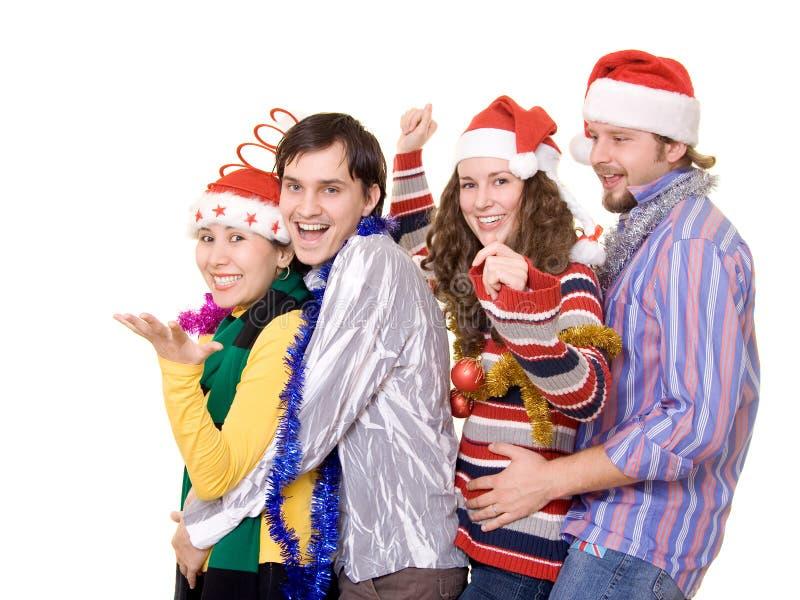 Réception de Christmass photo libre de droits