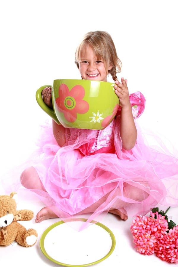 Réception de thé photographie stock libre de droits