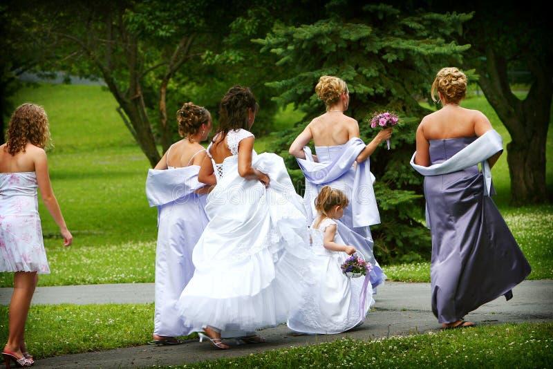 Réception nuptiale photo stock