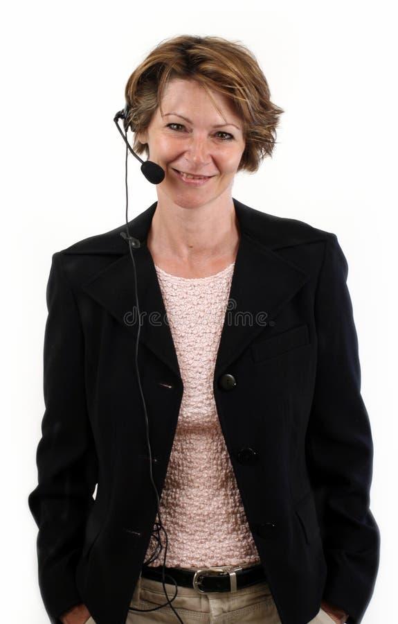 Réceptionniste photo libre de droits