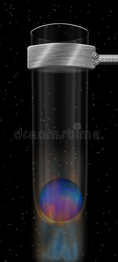 Download Réchauffement global illustration stock. Illustration du earth - 2142565