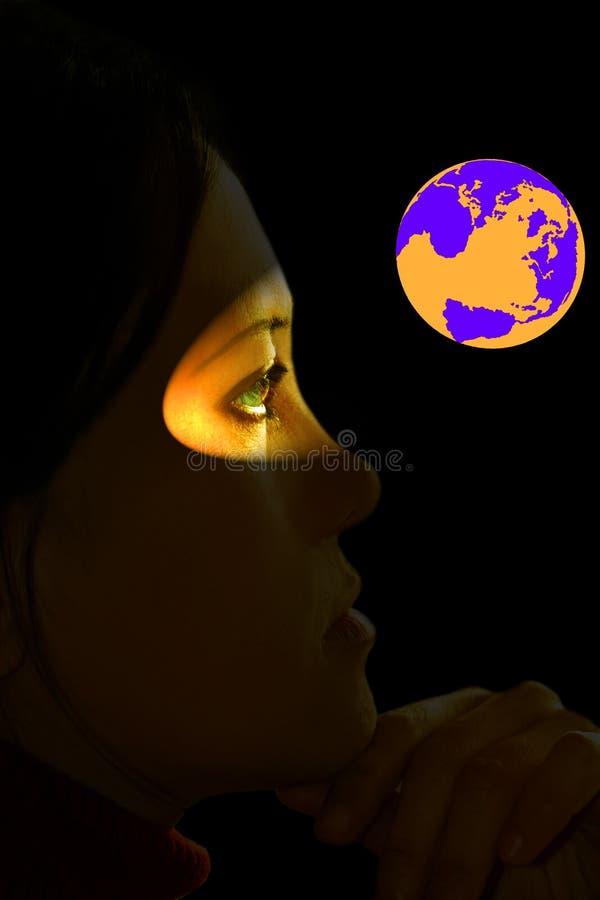 Réchauffement global image stock