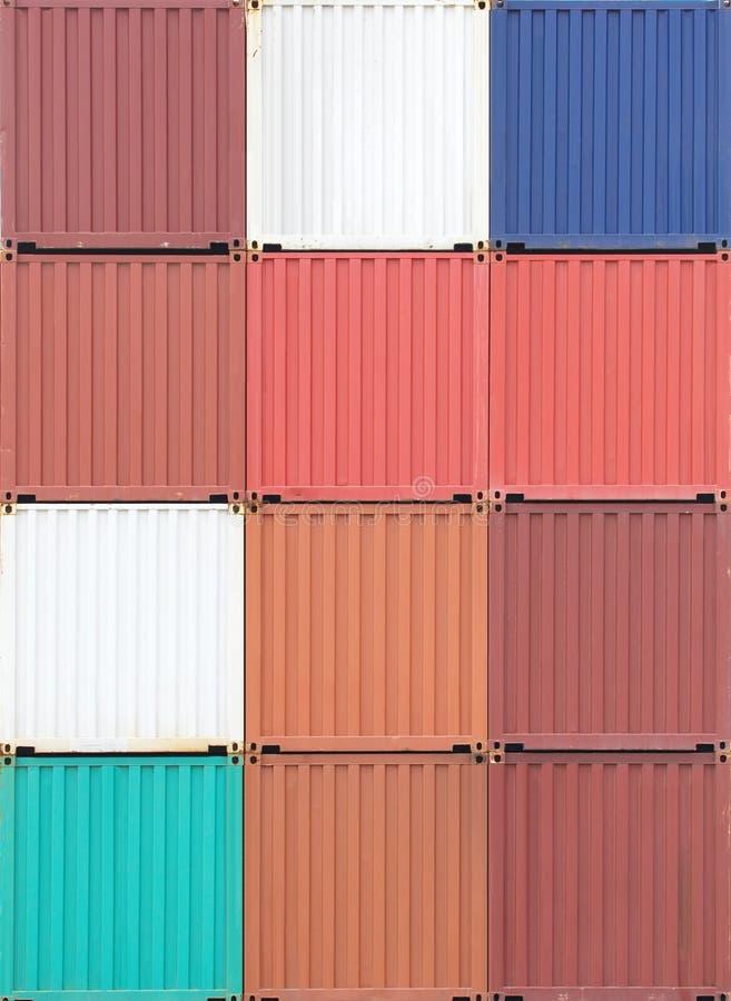 Download Récipient de cargaison image stock. Image du multicolore - 87700925