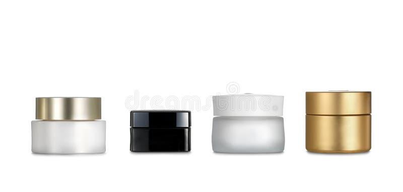 Récipients de cosmétiques photos libres de droits