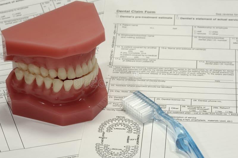 Réclamation dentaire photos stock